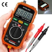 Non-Contact DC AC Voltage Current Multimeter Mini Digital LCD Voltmeter Ammeter
