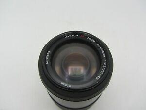 Minolta AF Zoom 70-210mm F3.5-4.5 Minolta Maxxum/Sony Alpha Lens For SLR Cameras