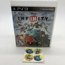 Disney infinity 1.0 ps3 game With Free Sticker