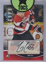 Cody Ceci 2012-13 ITG Heroes And Prospects Autograph Ottawa 67s