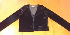 Vintage Black Velvet Marian & Maral Tie Jacket (L)