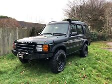 Land Rover Discovery 2 Td5 Automatic off road 4x4 Green Winch High Lift Shocks