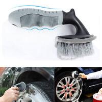 Professional Car Wheel Tire Brush Auto Rim Scrub Wash Cleaning Tool Soft Bristle