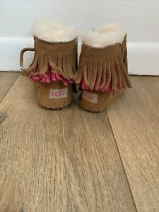 UGG Baby Girl Boots Size 0/1