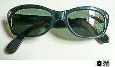 Lozza mod. Miria occhiali da sole vintage 1960s in celluloide blu (small)