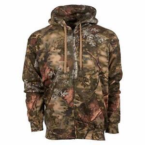 King's Camo Classic Cotton Full Zip Hoodie Mountain Shadow