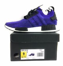 Adidas NMD R1 PK Primeknit Purple Ink B37627 Men's Size 9 New