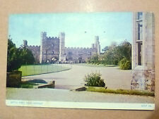 1955 Used REAL PHOTO POSTCARD- BATTLE ABBEY, NEAR HASTINGS, Sussex+ STAMP