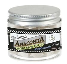 Sänger Anaconda MICRO NEON POP UP 10mm - Mini Boilie - Knoblauch