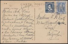 GREECE, 1924. Post Card 208,316, Athens - Liege, Belgium