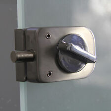 Glass Door Lock Latch Knob Open/Close for Home Single Side Latch