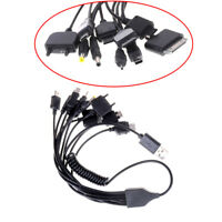 Universal 10 in 1 USB Multi Charger Retractable Phone Cable For Cell Phone A!