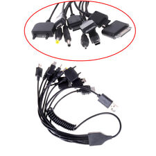 Universal 10 in 1 USB Multi Charger Retractable Phone Cable For Cell Phone DS