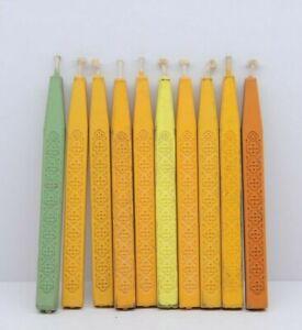 Vintage Hallmark Multicolor Everyday Sealing Wax Sticks Lot of 10