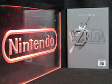 N64 Nintendo 64 Zelda Ocarina of Time French Instruction Manual Ultra Rare MINT