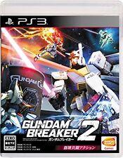 Used PS3 Gundam Breaker 2  Japan import
