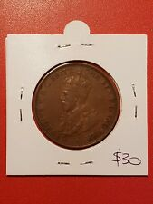 1931 Australian Penny coin