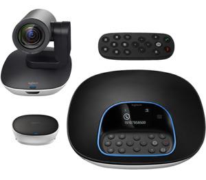 Logitech Group Videokonferenz Conference System, Plug & Play, FullHD