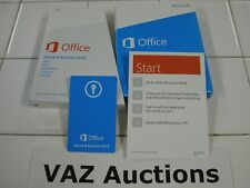 Microsoft Office 2013 Home and Business Product Key Card Full Retail English=NEW