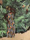 Original ethnic art folk art fabric art by artist Karen Terry