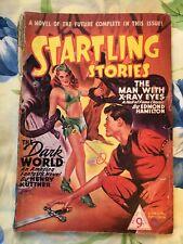 Startling Stories no 3 Pulp Sci Fi Horror Jack Vance