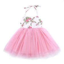 Girls Tulle Tutu Princess Dress Kids Summer Outfit Party Glittery Stars Skirts