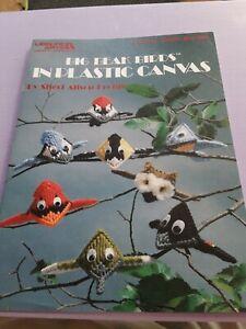 Big Beak Birds, Kiss Critters in Plastic Canvas # 1405, #1447