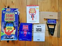 GAME GENIE FOR NES BOXED - AUS SELLER PAL - RARE NINTENDO ENTERTAINMENT SYSTEM