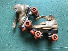 ROLLER SKATES Women's Classic - Premium Tan Quad Rink Skates