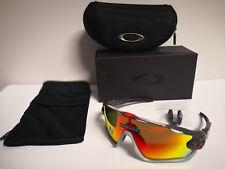 6df31741cc Nuevo Oakley Jawbreaker - Gafas de Sol, Aero Mate Carbono/Prisma Rojo  OO9290-
