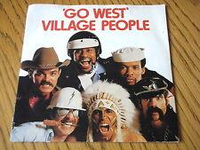 "VILLAGE PEOPLE - GO WEST      7"" VINYL PS"
