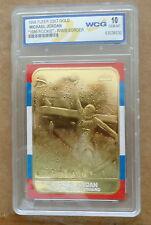 Superb Michael Jordan 23k GOLD  TABLET Card!