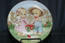 Berry Buddies By Ruth J Morehead Blessed Are Ye Collection Porcelain Plate
