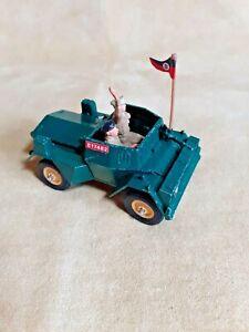 Britains 1/32 Deetail WW2 Diecast WW2 British Daimler Scout Car + crew