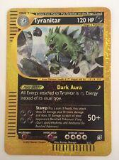 Tyranitar Box Topper 3/12 Good Condition