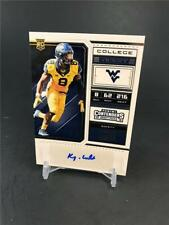2018 PANINI CONTENDERS DRAFT FOOTBALL KYZIR WHITE ROOKIE TICKET AUTO CHARGERS