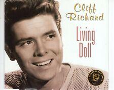 CD  CLIFF RICHARDliving dollMAXI SINGLE HOLLAND 1998 GOLD DISC EX+   (B4202)