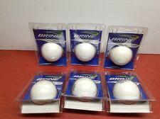 NEW BRINE FIELD HOCKEY MULTI TURF BALL ( 6PACK) WHITE