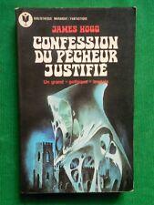CONFESSION DU PECHEUR JUSTIFIÉ JAMES HOGG MARABOUT 596 1976  GOTHIQUE ANGLAIS