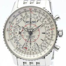 Polished BREITLING Navitimer Montbrillant Datora Automatic Watch A21330 BF505962
