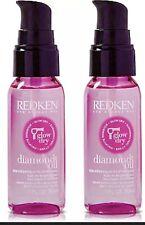 Redken Glow Dry Diamond Style Enhancing Oil 1 Fl Oz (2 Pack)