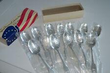 ORIGINAL13 COLONIES SPOONS Silver Bicentennial 1776-1976 Orig. Packaging Box