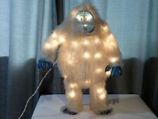"""Rudolph The Red Nosed Reindeer Light Up Bumble the Abominable Snowman 18"""""""