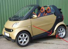 Smart Fortwo 450 Cabrio ORIGINAL BRABUS  Flaps Seitenflaps Hinten Tuning (L+R)