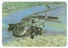 1989 Portugese Pocket Calendar US Military Helicopter - Sikorsky Black Hawk