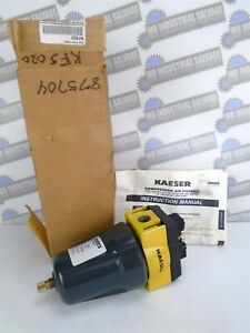 """KAESER - KFS20 Filtered Separator, 3 Micron - 1/2"""" NPT (NEW in BOX)"""