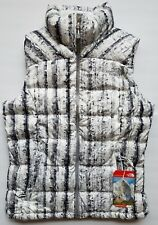 The North Face Nuptse 2 Puffer Vest Women Size XS White Birch Goose Down NEW