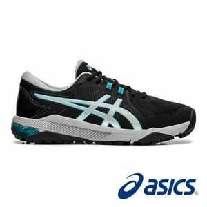 ASICS GEL-Men's Golf Shoes COURSE GLIDE-- Black/Silver