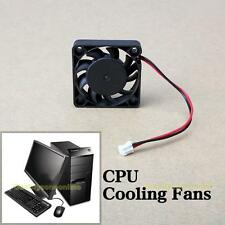12V 2 Pin 40mm Computer CPU Cooler Cooling Fan Black for PC Laptop Notebook