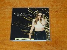 Melanie C - Think About It - RARE UK PROMO CDr - RED GIRL RECORDS - Spice Girls
